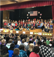 Schools Across the District Honor Veterans