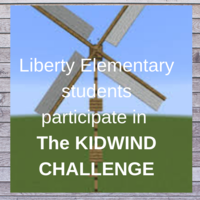 Liberty Elementary 5th grade students participate in the Kidwind Challenge