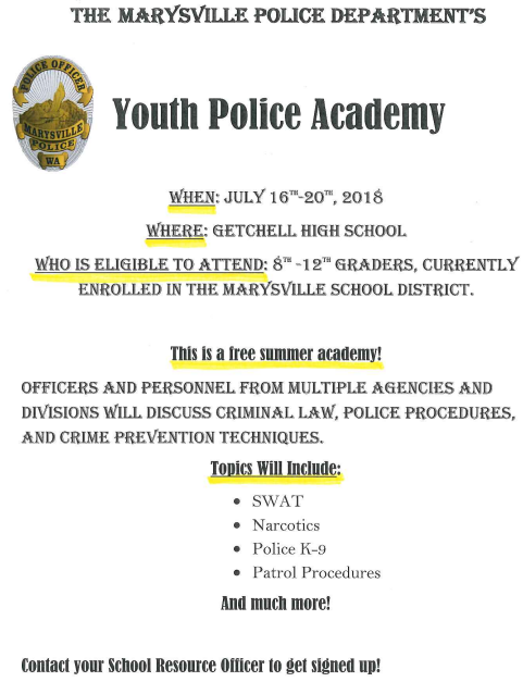 Youth Police Academy