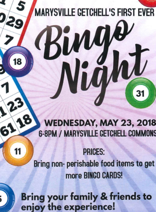 MG Bingo Night