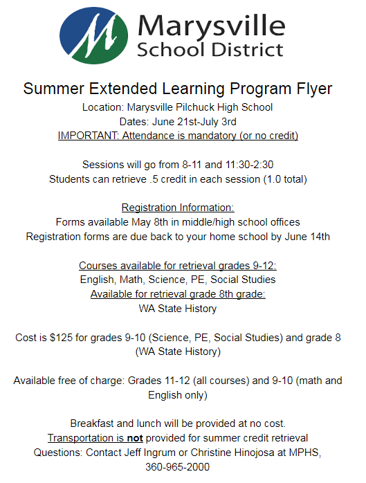 Extended Learning Program