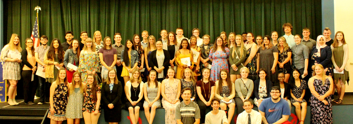 Photo of Rotary Scholarship Winners