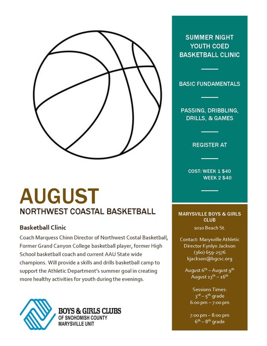 Summer activies @ Boys & Girls Clubs