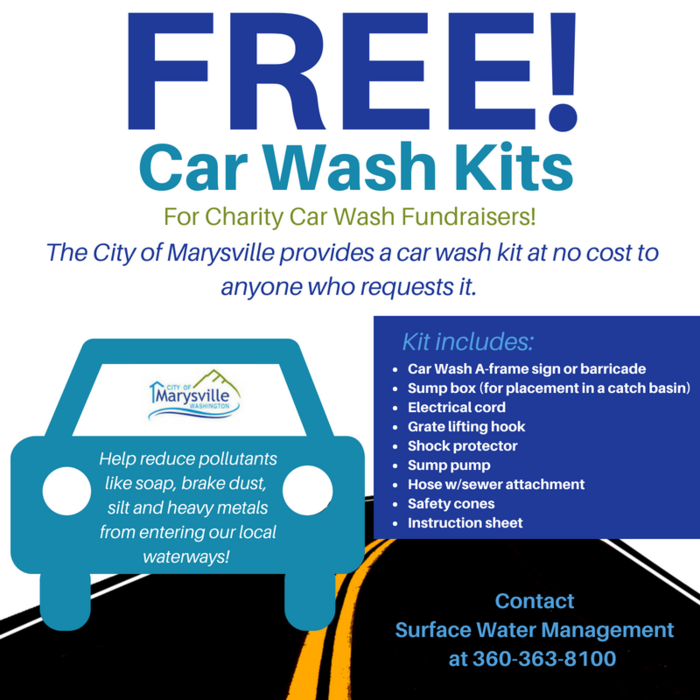 Image: Free Car Wash Kits