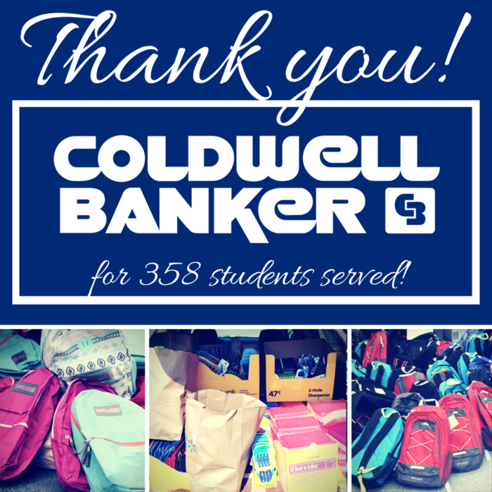 Image: Thank you Coldwell Banker!