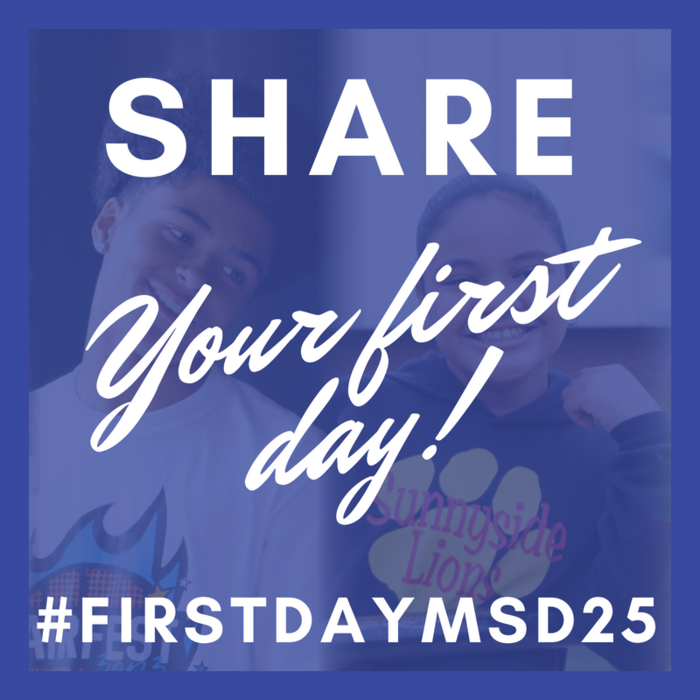 Image: Share your first day #FirstDayMSD25