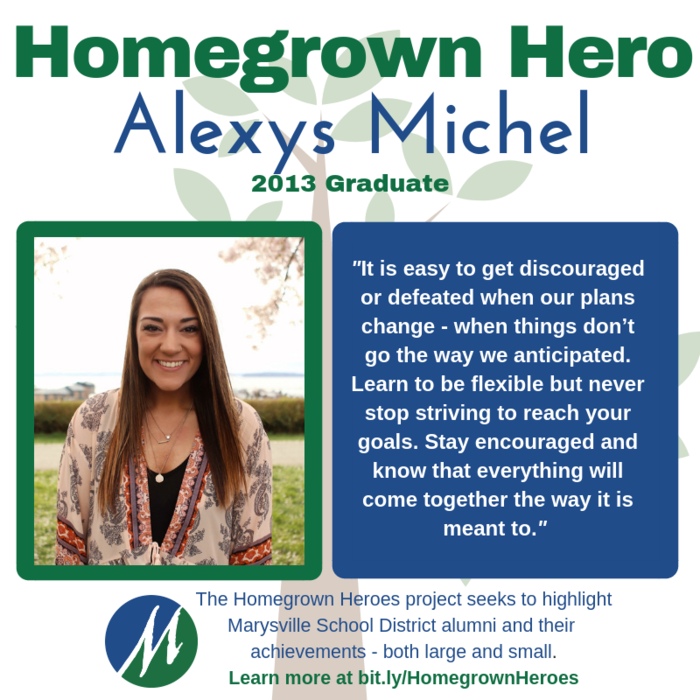 Image of #MSD25 Homegrown Hero, Alexys Michel