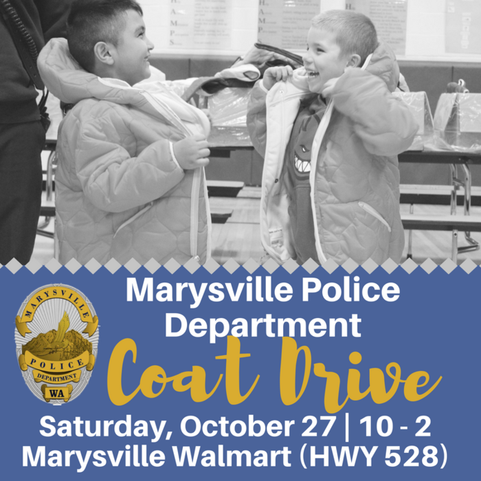 Image Marysville PD Coat Drive