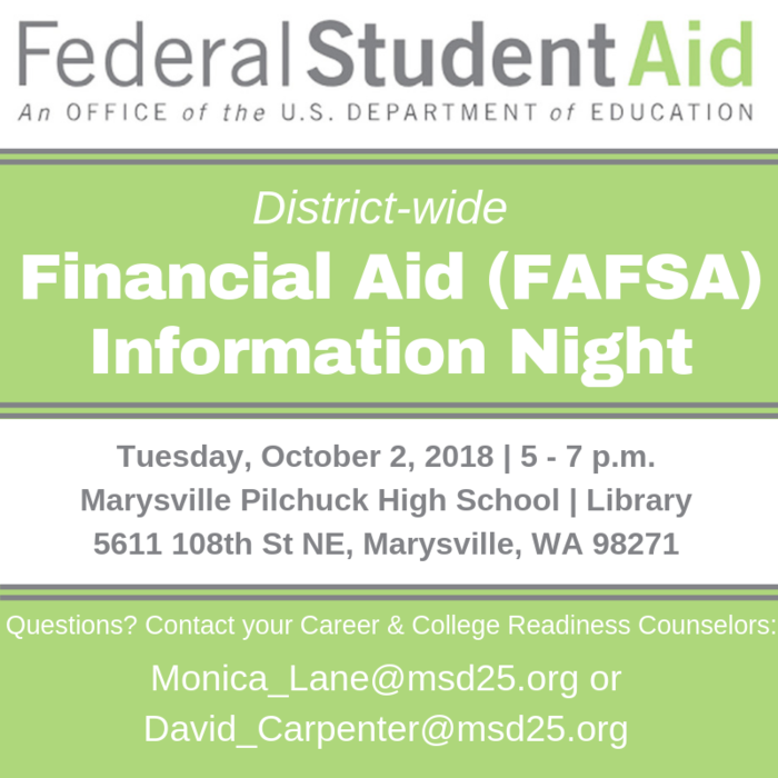 Image: Financial Aid Night