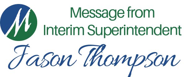 Message from Superintendent Jason Thompson