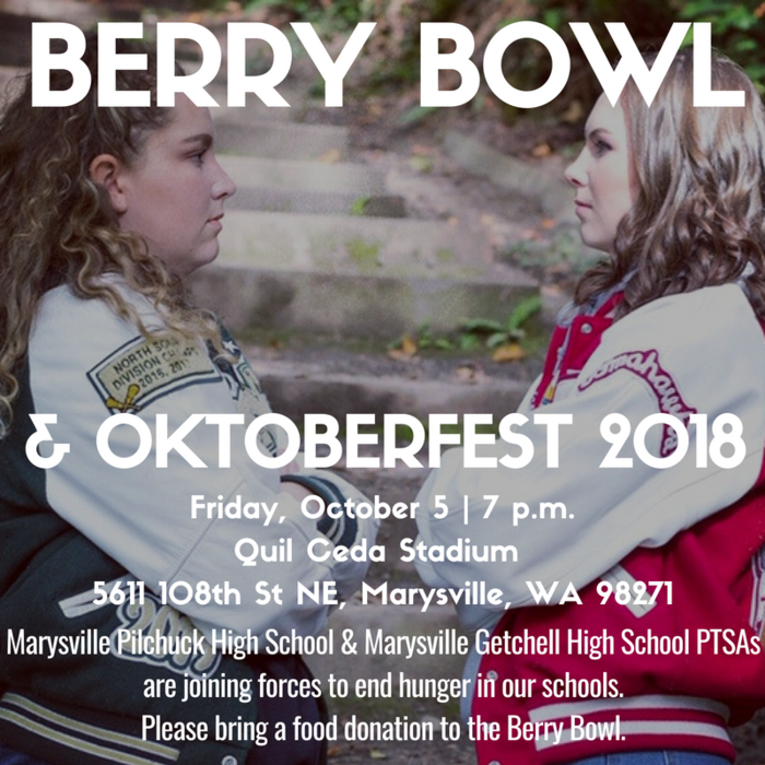 Join MP and MG Swim Captains, Jennica Harper & Shelby Sawyer TOMORROW NIGHT at the 2018 Berry Bowl and help their PTSAs fight hunger with a food donation! See you there!