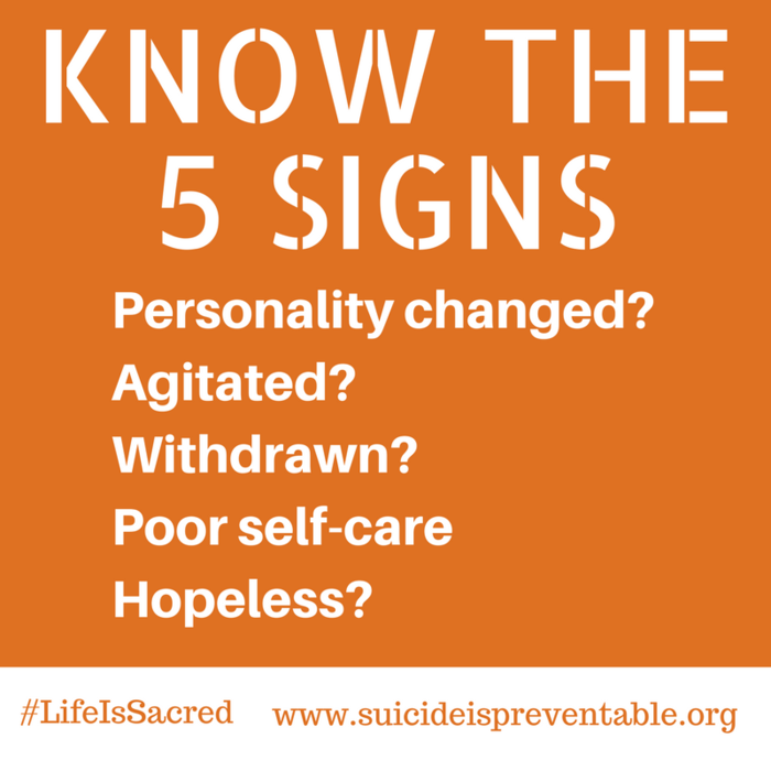 Image: Know the Signs