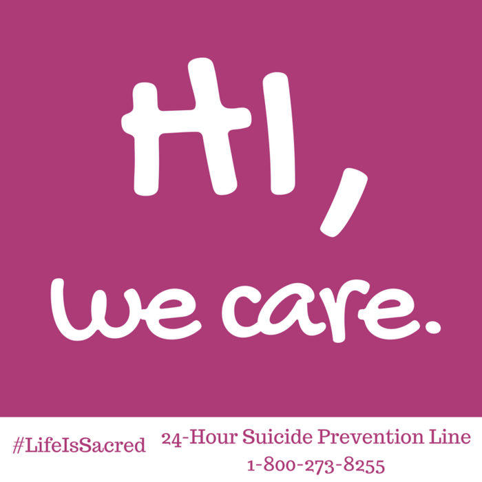 Image: Hi, we care.