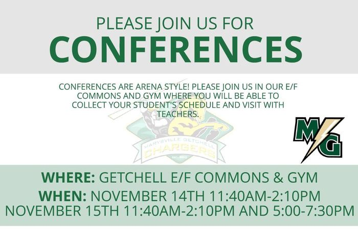 MGHS Fall Conferences