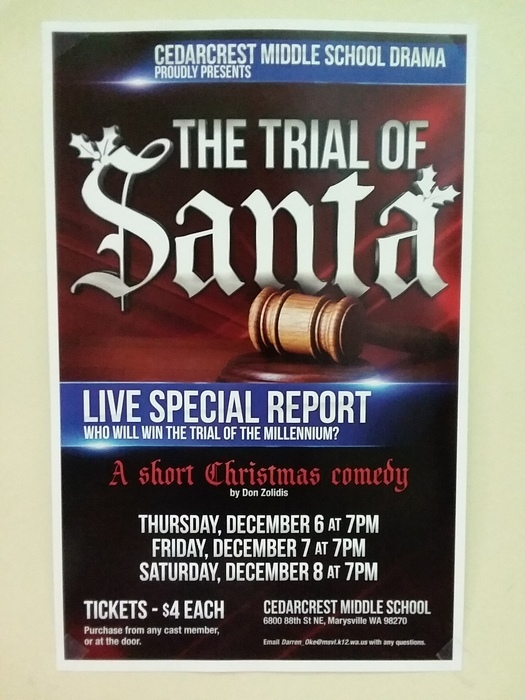 the trial of santa