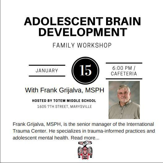 Adolescent Brain Development Workshop