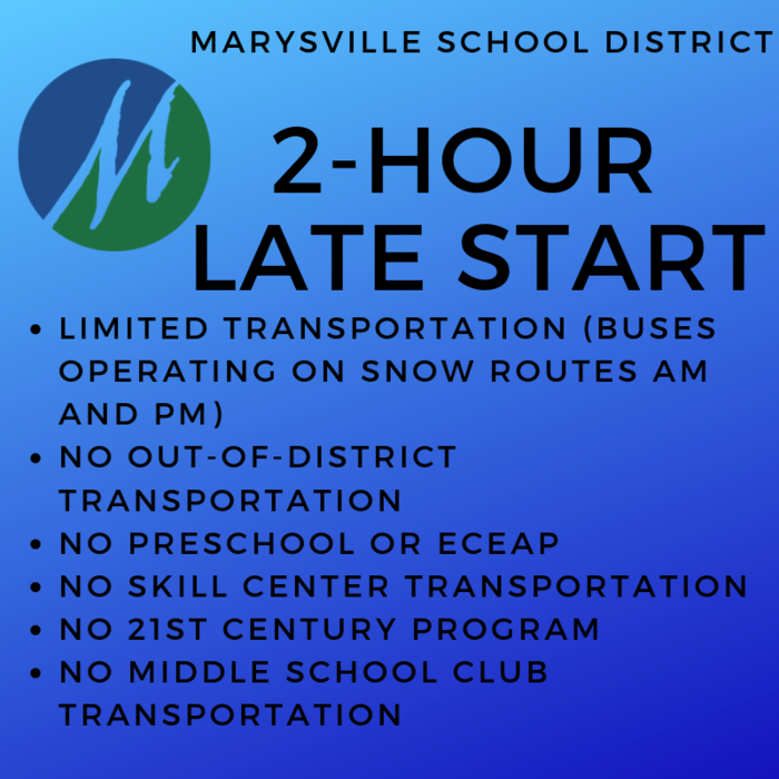 Late Start, 2/7 and 2/8/19