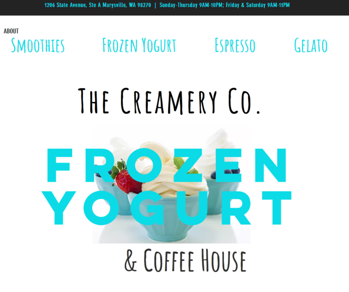 The Creamery Co. Fundraiser