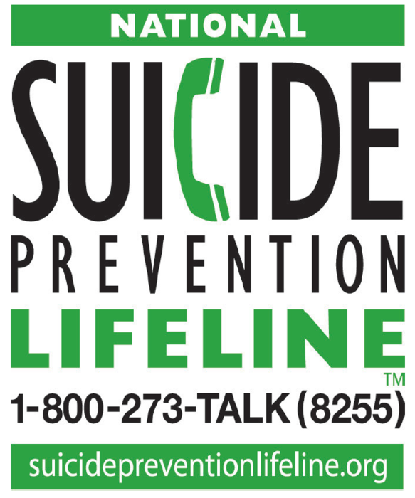 SUICIDE HOTLINE if you need someone to talk to! Reach out.