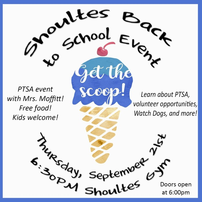 Shoultes PTSA Back to School Event
