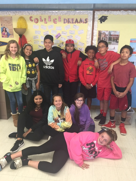 7th Grade AVID Students