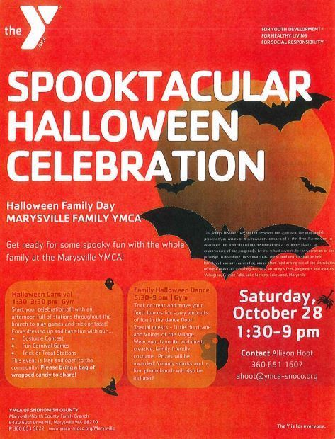 The YMCA Halloween Event