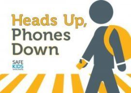 National School Safety Week: Head up, Phone Down