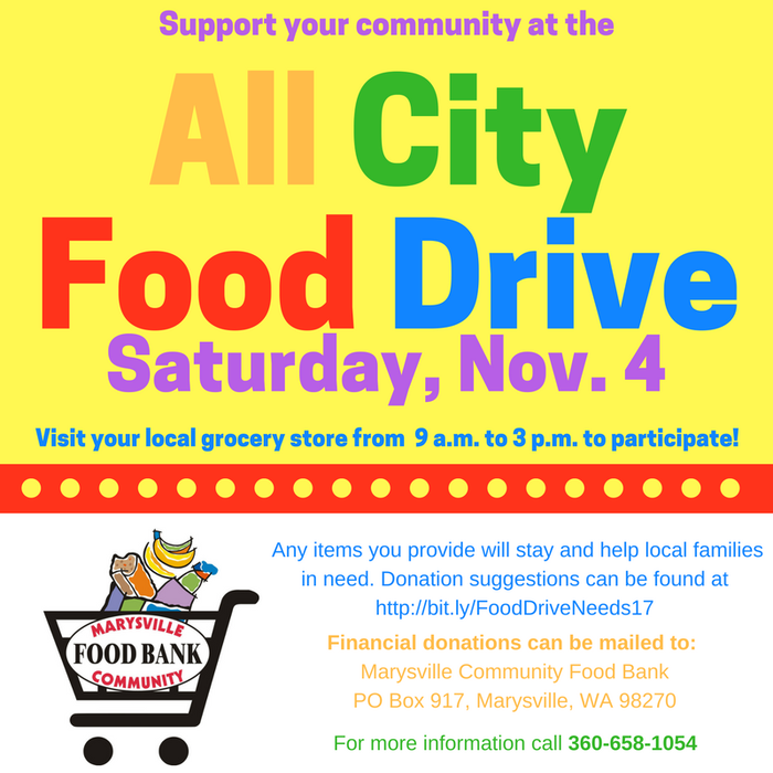 All City Food Drive Image