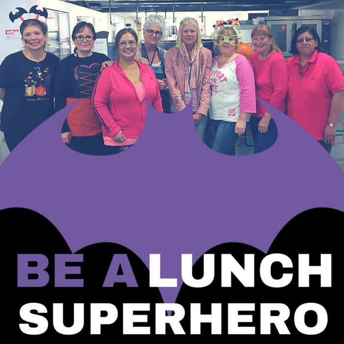 Lunch Super Hero Photo