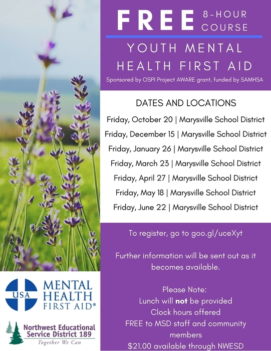 Youth Mental Health First Aid