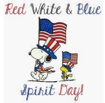 Red, White & Blue Day