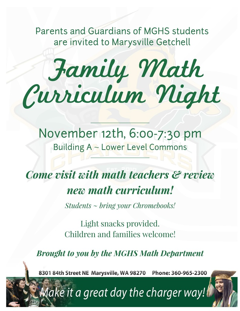 Math Curriculum Night