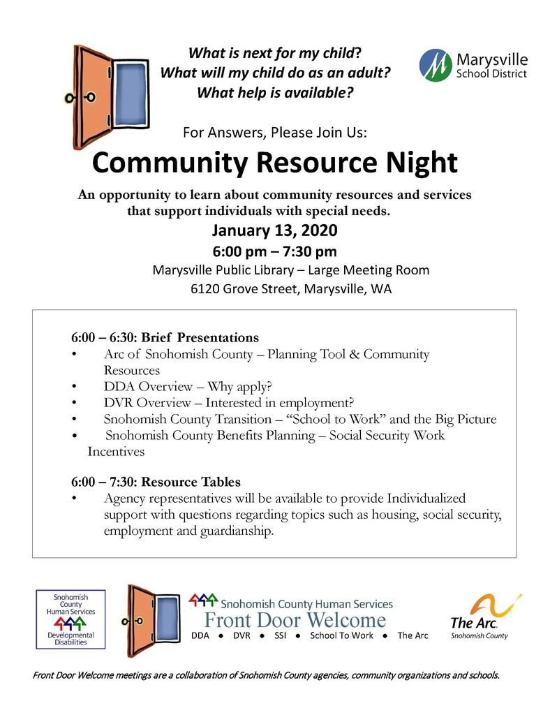 Community Resource Night