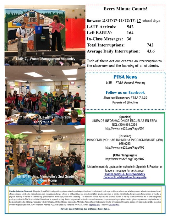 Shoultes Shark January Newsletter, Page 2 of 2.