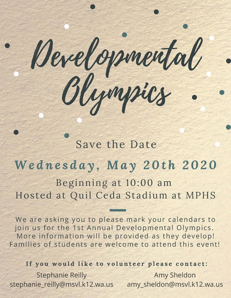 Developmental Olympics