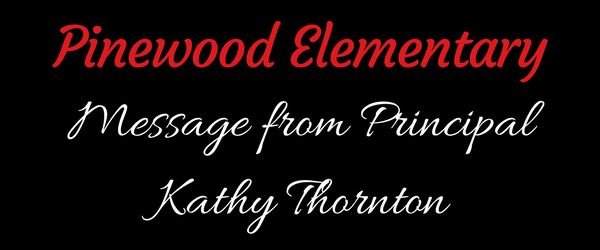 IMAGE: Message from Principal Kathy Thornton