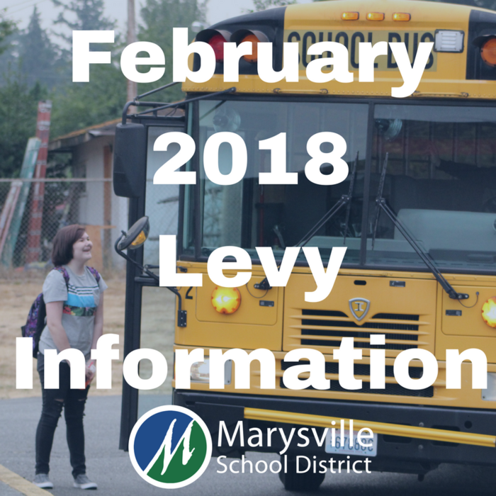Did you know? Local levy dollars represent the second largest funding source for the Marysville School District's overall budget and help support the educational programs and services students currently receive! Learn more at www.msd25.org/february-2018-levy-information