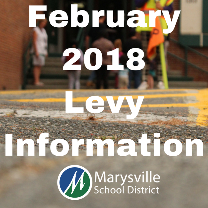 The Marysville School District understands the importance of maintaining school buildings and facilities. That's why the Replacement Technology and Capital Projects Levy helps funds the most critical facility retrofits and replacement needed in our district over the next five years! Learn more at www.msd25.org/february-2018-levy-information