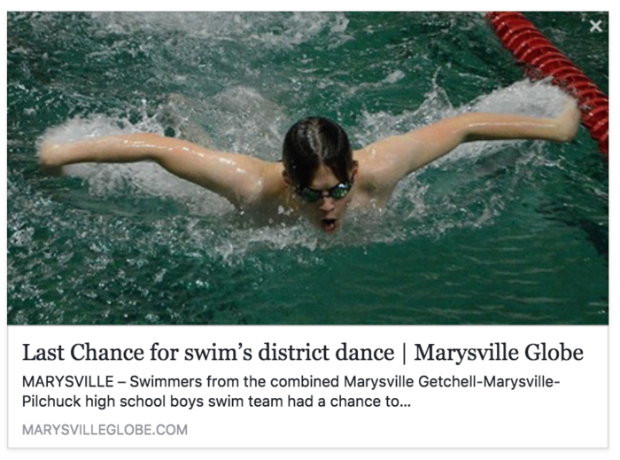 Image of News Clip: Last Chance for Swim's District Dance