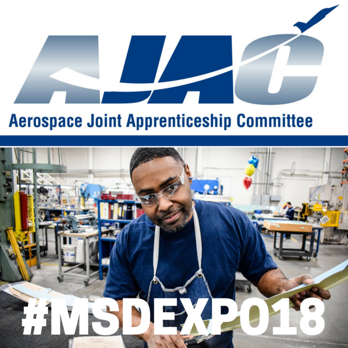 You can #EarnWhileYouLearn with Aerospace Joint Apprenticeship Training! Their staff will be at #MSDEXPO18 to share information with our juniors about apprenticeships for Washington's Advanced Manufacturing Industries! Learn more at http://bit.ly/MSDEXPO18