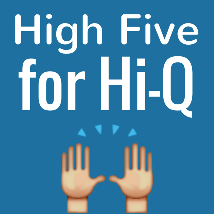 Image: High Five for Hi-Q