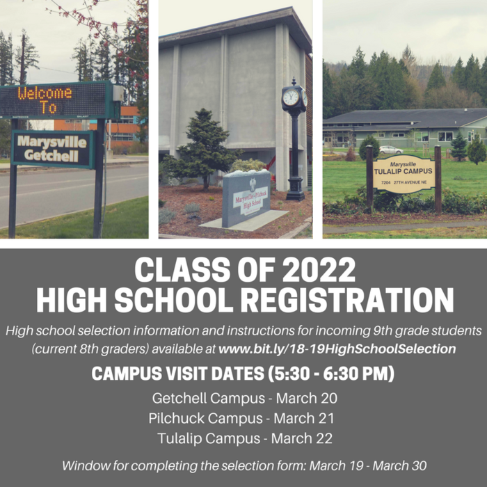 Image: High School Selection Information