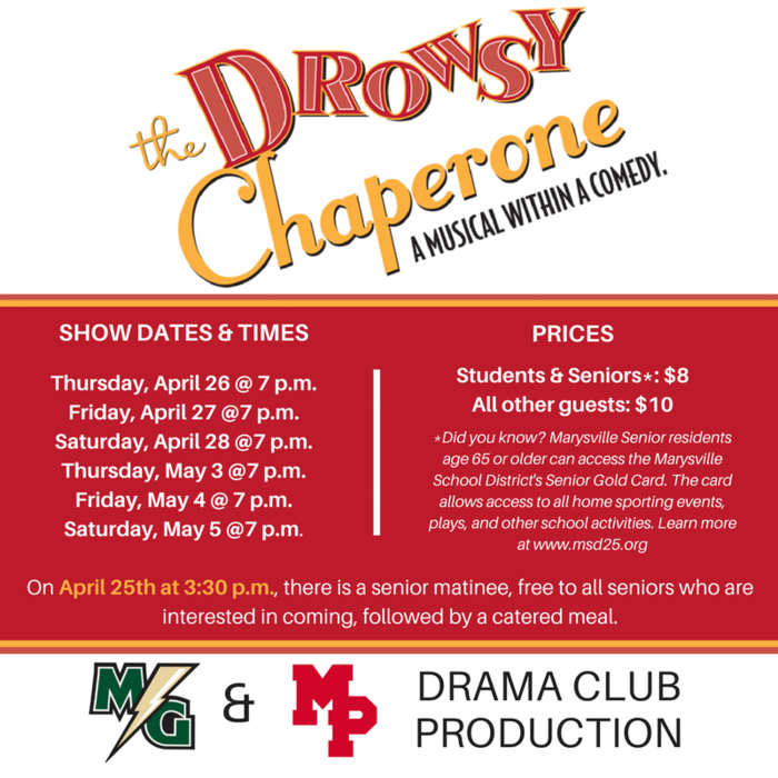 The Drowsy Chaperon Logo