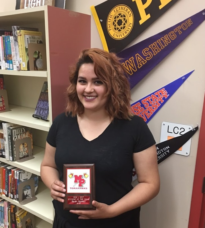 AVID Student of the Year 2017-18