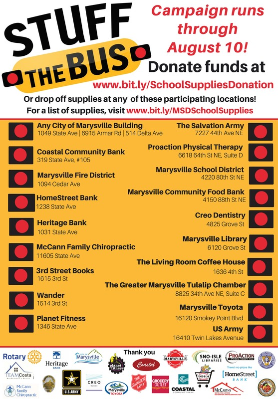 Stuff the bus flyer