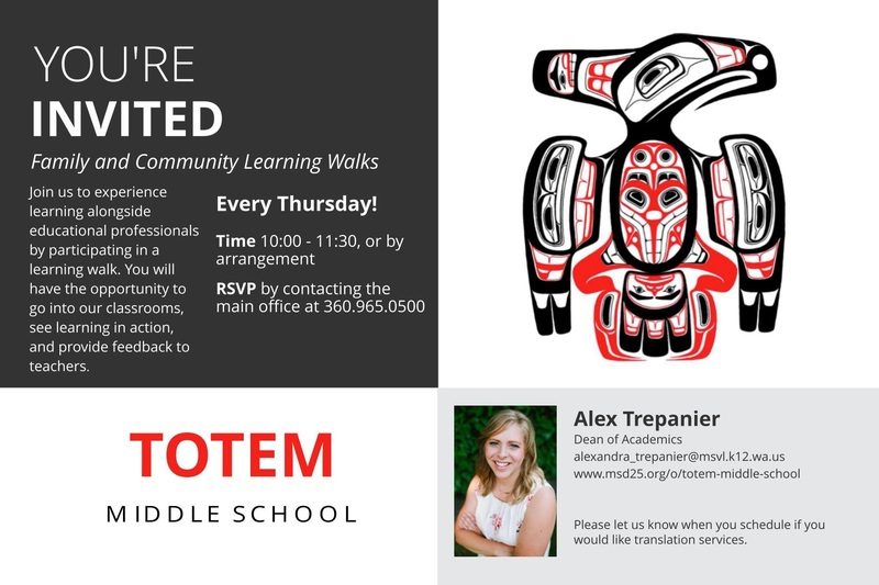 Totem Learning Walks